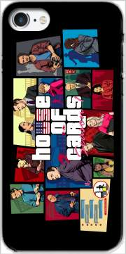 Mashup GTA and House of Cards Case for Iphone 7 / Iphone 8
