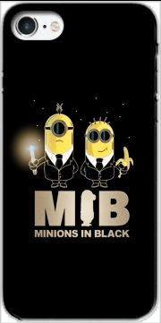 Minion in black mashup Men in black Case for Iphone 7 / Iphone 8