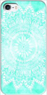 Mint Bohemian Flower Mandala Case for Iphone 7 / Iphone 8