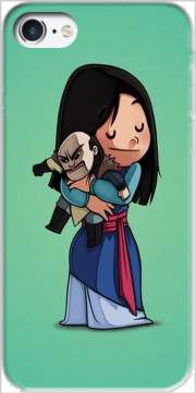 Mulan give hugs to vilain Iphone 7 / Iphone 8 Case