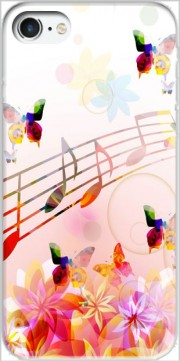 Musical Notes Butterflies Case for Iphone 7 / Iphone 8