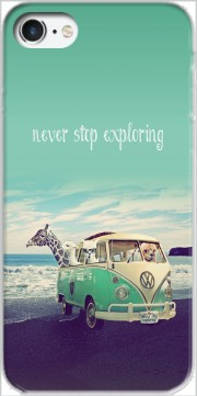Never Stop Exploring - Lamas on Holidays Case for Iphone 7 / Iphone 8