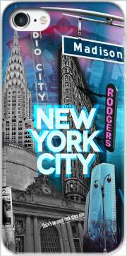 New York City II [blue] Case for Iphone 7 / Iphone 8