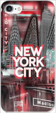 New York City II [red] Case for Iphone 7 / Iphone 8