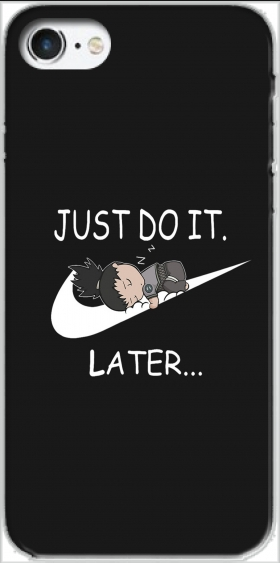 Case Nike Parody Just do it Later X Shikamaru for Iphone 7 / Iphone 8