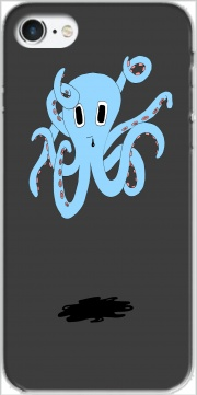 octopus Blue cartoon for Iphone 7 / Iphone 8