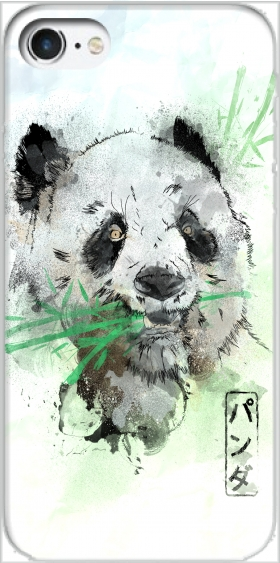 Case Panda Watercolor for Iphone 7 / Iphone 8