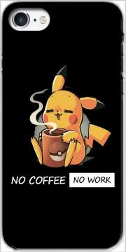 Pikachu Coffee Addict Case for Iphone 7 / Iphone 8