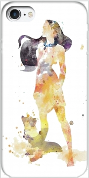 Pocahontas Watercolor Art Case for Iphone 7 / Iphone 8