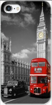 Red bus of London with Big Ben Case for Iphone 7 / Iphone 8