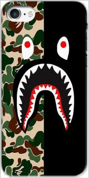 Shark Bape Camo Military Bicolor Case for Iphone 7 / Iphone 8