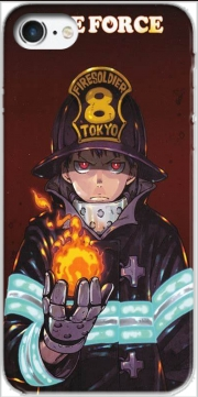 Shinra kusakabe fire force Iphone 7 / Iphone 8 Case