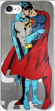 Superman And Batman Kissing For Equality Iphone 7 / Iphone 8 Case