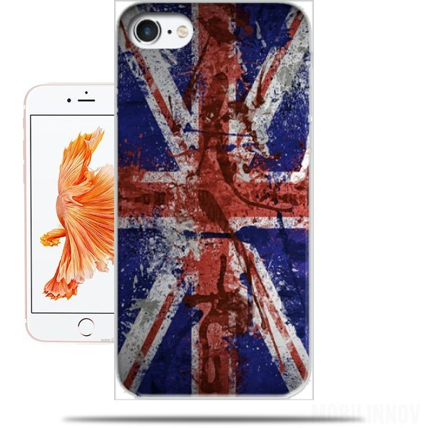 Case Union Jack Painting for Iphone 7 / Iphone 8