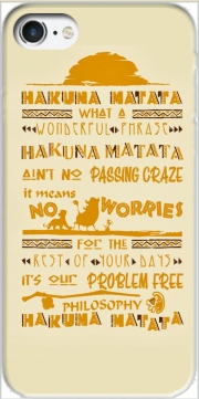 What means Hakuna Matata Iphone 7 / Iphone 8 Case