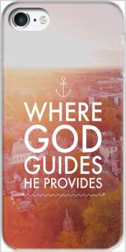 Where God guides he provides Bible Case for Iphone 7 / Iphone 8