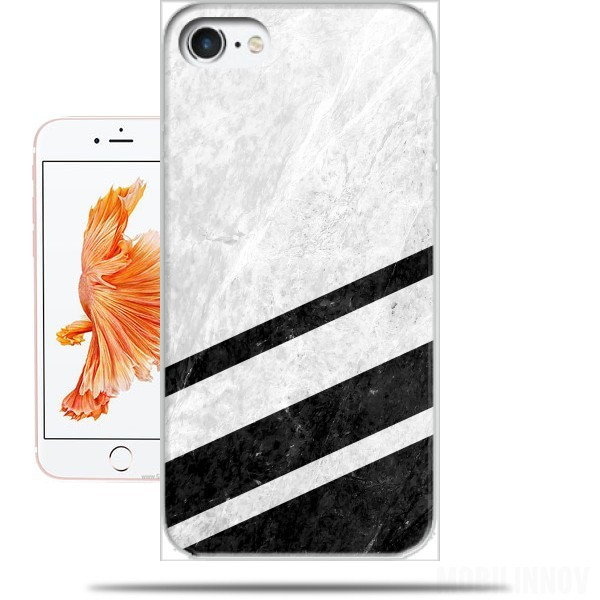 Case White Striped Marble for Iphone 7 / Iphone 8