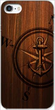 Wooden Anchor Case for Iphone 7 / Iphone 8