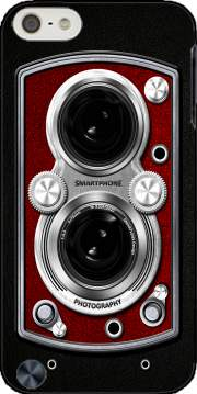 Vintage Camera Red Case for Ipod Touch 6