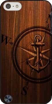 Wooden Anchor Case for Ipod Touch 6