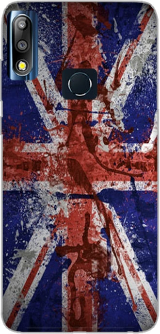 Case Asus Zenfone Max Pro M2 ZB631KL with pictures flag