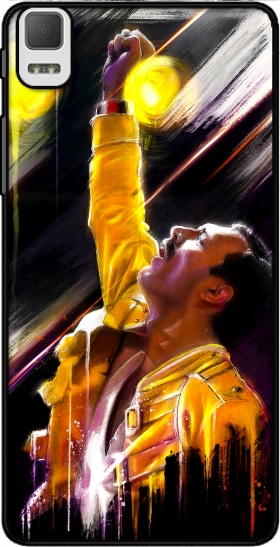 Case Freddie Mercury for BQ Aquaris E5