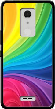 Rainbow Abstract Case for Alcatel A3 XL