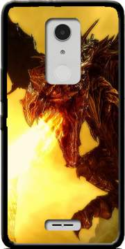 Aldouin Fire A dragon is born Case for Alcatel A3 XL
