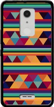 Aztec Pattern Pastel Case for Alcatel A3 XL