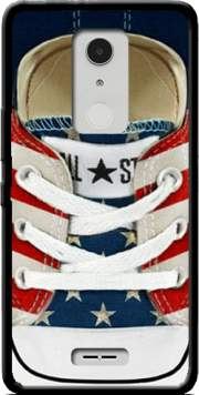 All Star Basket shoes USA Case for Alcatel A3 XL