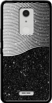 Black Space Case for Alcatel A3 XL