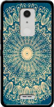 Blue Organic boho mandala Case for Alcatel A3 XL