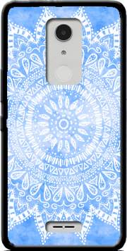 Bohemian Flower Mandala in Blue Case for Alcatel A3 XL