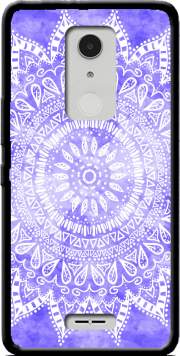 Bohemian Flower Mandala in purple Case for Alcatel A3 XL