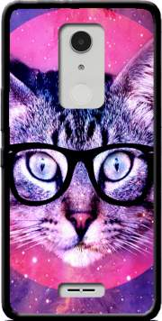 Cat Hipster Case for Alcatel A3 XL