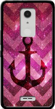 Anchor Chevron Red Case for Alcatel A3 XL