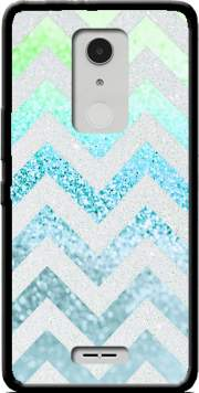FUNKY CHEVRON BLUE Case for Alcatel A3 XL