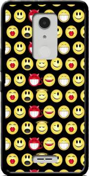 funny smileys Case for Alcatel A3 XL