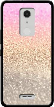 Gatsby Glitter Pink Case for Alcatel A3 XL