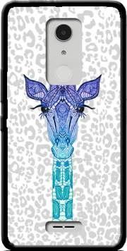 Giraffe Purple Case for Alcatel A3 XL