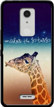Giraffe Love - Right Case for Alcatel A3 XL