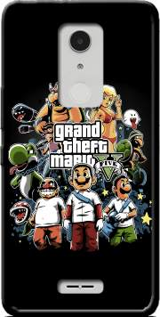 Grand Theft Mario Case for Alcatel A3 XL