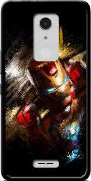 Grunge Ironman Case for Alcatel A3 XL