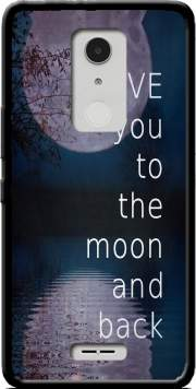 I love you to the moon and back Case for Alcatel A3 XL