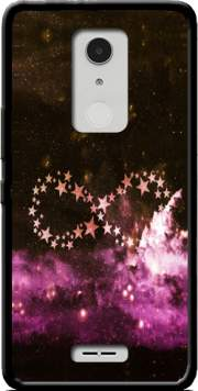 Infinity Stars purple Case for Alcatel A3 XL