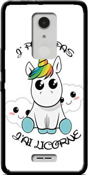 Je peux pas j'ai licorne Case for Alcatel A3 XL