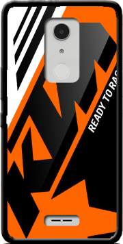 KTM Racing Orange And Black Case for Alcatel A3 XL