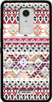 Red Native Bandana Aztec Case for Alcatel A3 XL