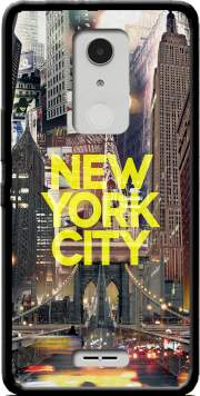 New York City II [yellow] Case for Alcatel A3 XL