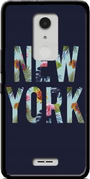 New York Floral Case for Alcatel A3 XL